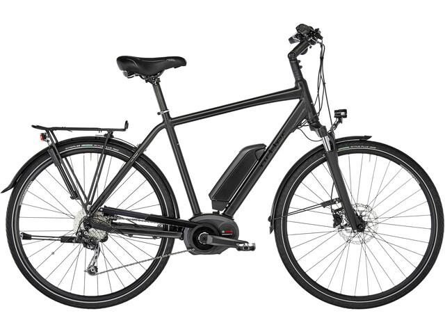 Ortler Bozen Performance E-trekkingcykel sort (2019) | City-cykler
